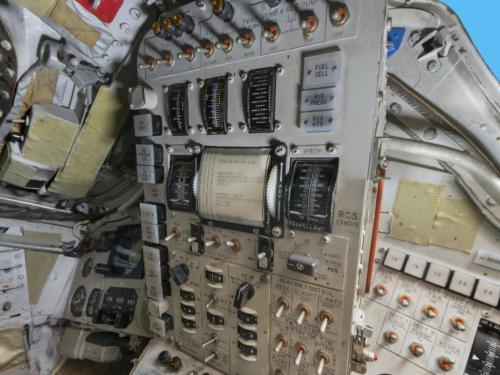 Interior of Gemini IV