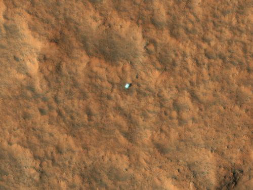 HiRISE Image of Viking Lander 1