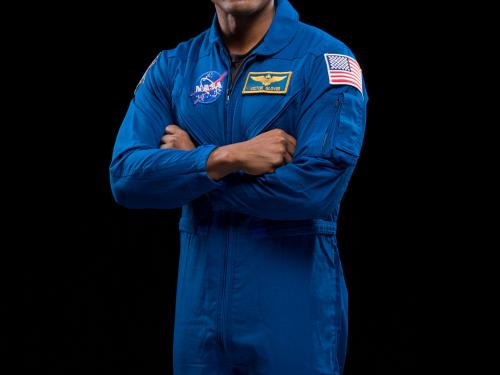 SpaceX Crew-1 Pilot Victor Glover of NASA