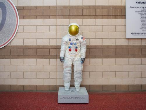 Spacesuit Statue
