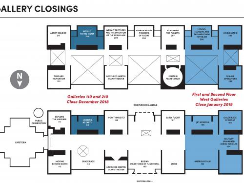 Gallery Closure Schedule for Museum Renovation