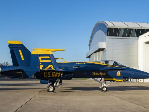 U.S. Navy Blue Angel F/A-18C Hornet