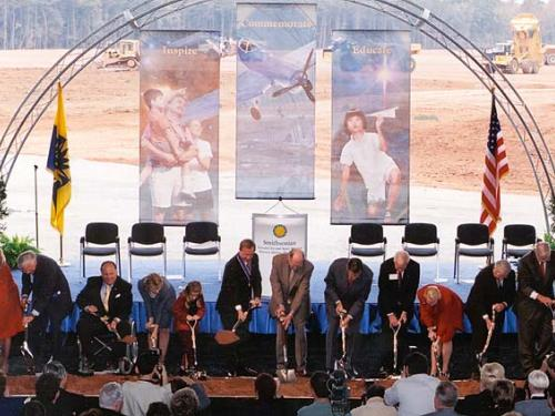 Udvar-Hazy Center Ground Breaking Ceremony