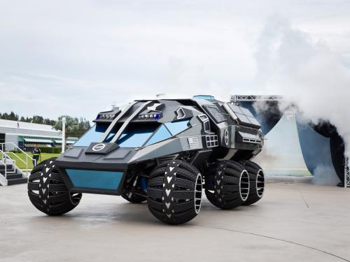 Kennedy Space Center Mars Rover Concept