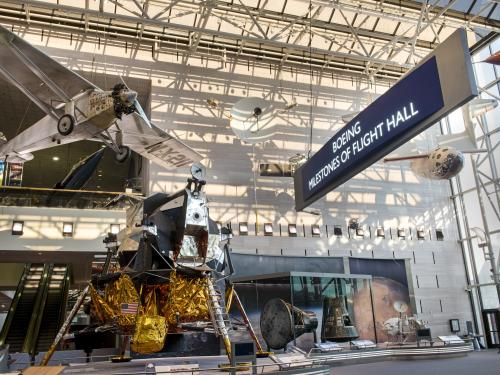 New Boeing Milestones of Flight Hall