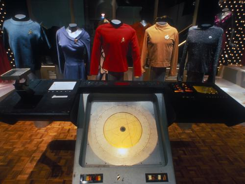 Costumes on Display in Star Trek Exhibition