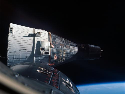 Gemini VII Photographed by Gemini VI
