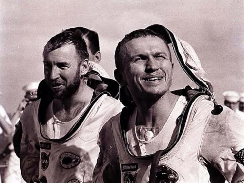 Gemini 7 Borman and Lovell Recovery