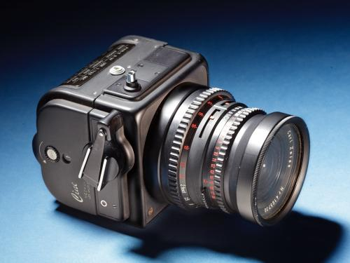 Hasselblad camera with Zeiss lens