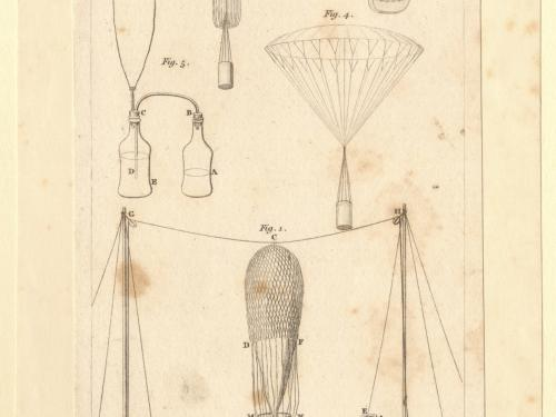 Illustration Showing Hydrogen Production for Balloons