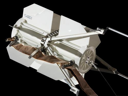 Close Up of the Pioneer Spacecraft Radio-Isotope Generator
