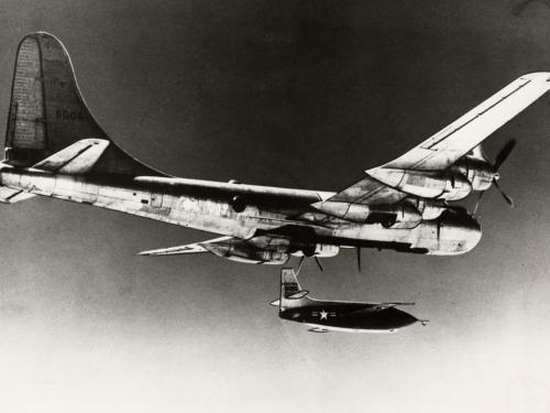 Bell X-1 Dropped from B-29 Bomber