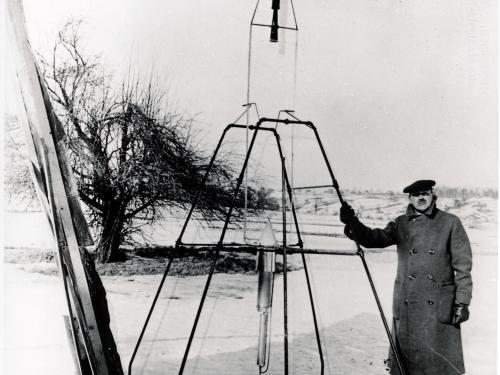 Goddard 1926 Rocket