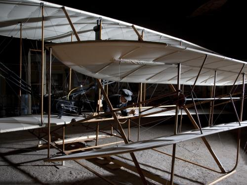 Front of the 1903 Wright Flyer