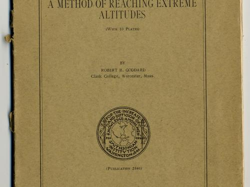 "Cover of ""A Method of Reaching Extreme Altitudes"""