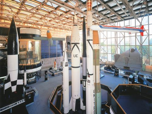 View of Space Race gallery