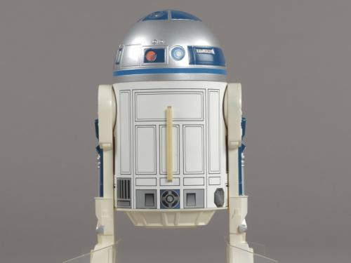 Scale model of the Star Warsmovie character R2-D2.