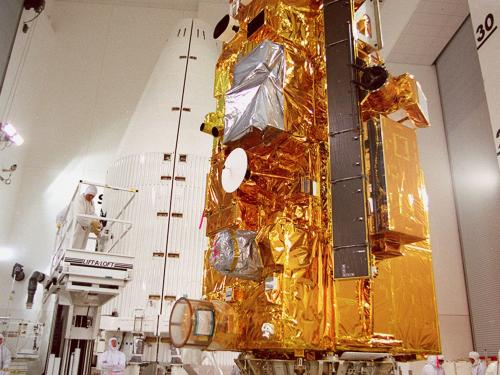 NASA's Terra spacecraft launched in 1999, carrying five instruments that take measurements as the satellite orbits the Earth.