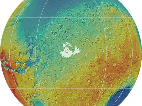 Meridiani Planum are of Mars