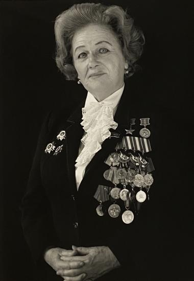 Portrait of Nadezhda Popova