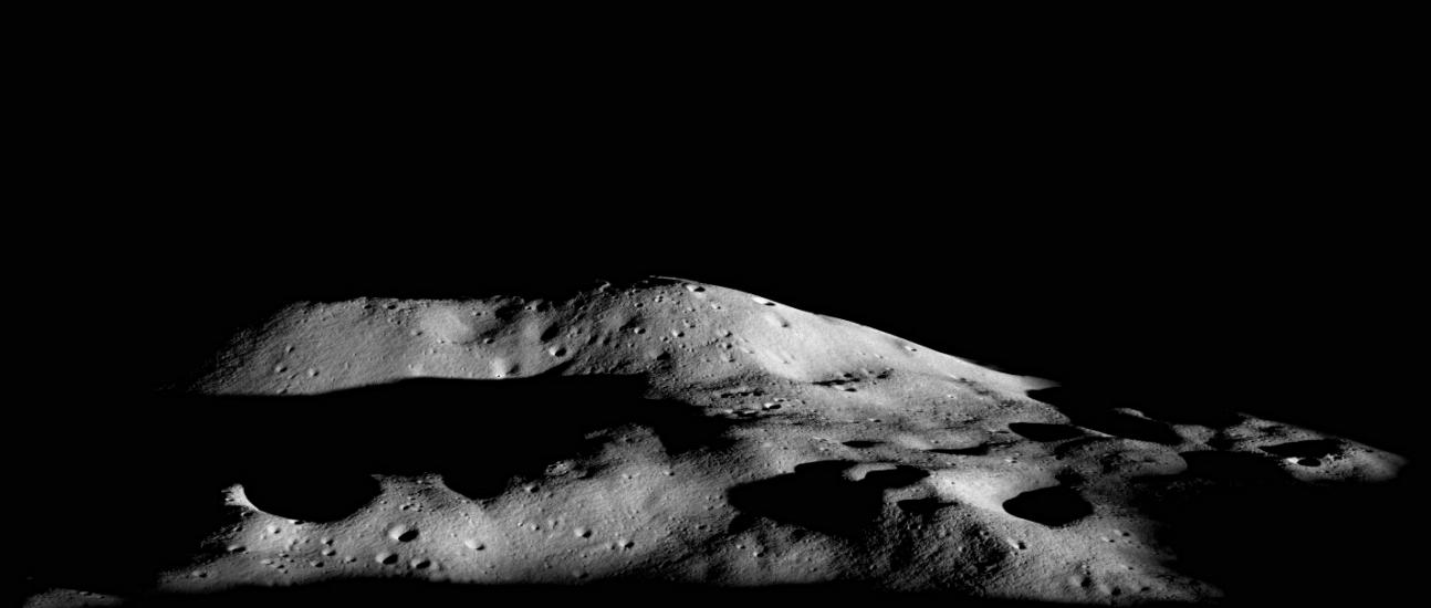 Malapert Mountain on the Moon