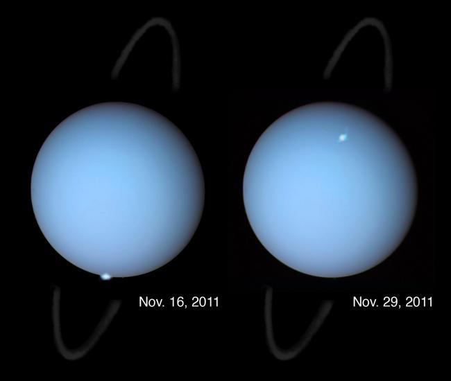 Aurorae on Uranus