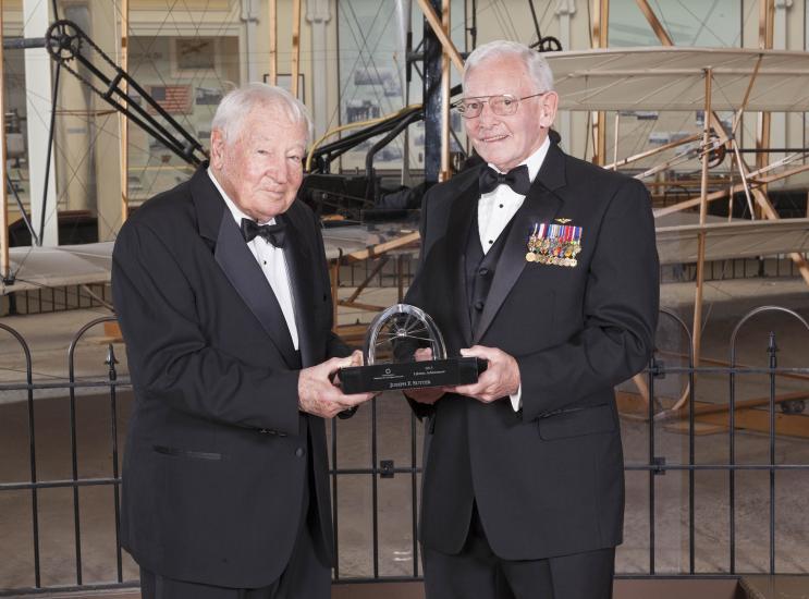 Joseph Sutter and Gen. Jack Dailey