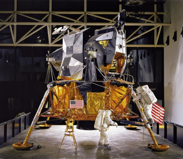 Lunar Module 2 in Exploring the Moon