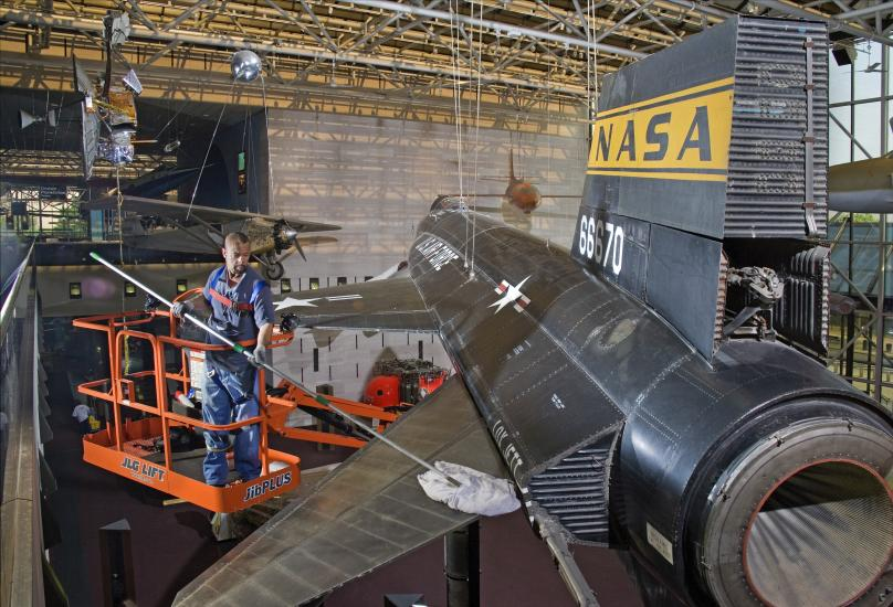 Dusting the X-15