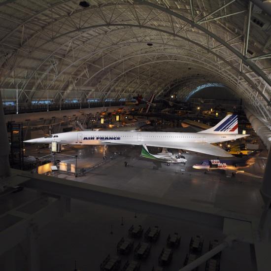 Concorde at the Udvar-Hazy Center