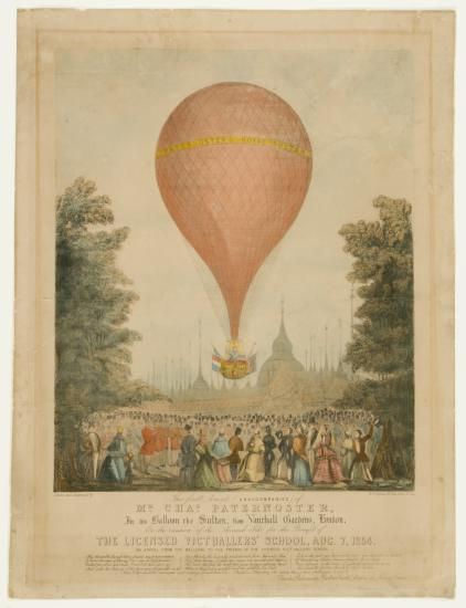 Balloon Print from Kendall Collection