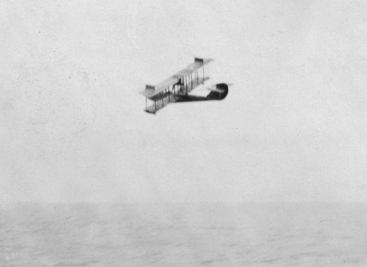 A photo of a plane ferrying liquor, 1920s