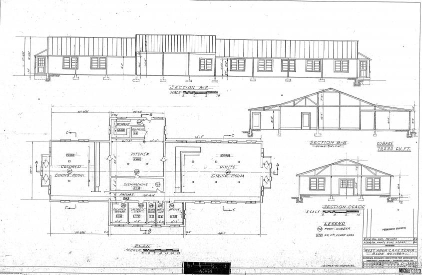 White and black floor plan.