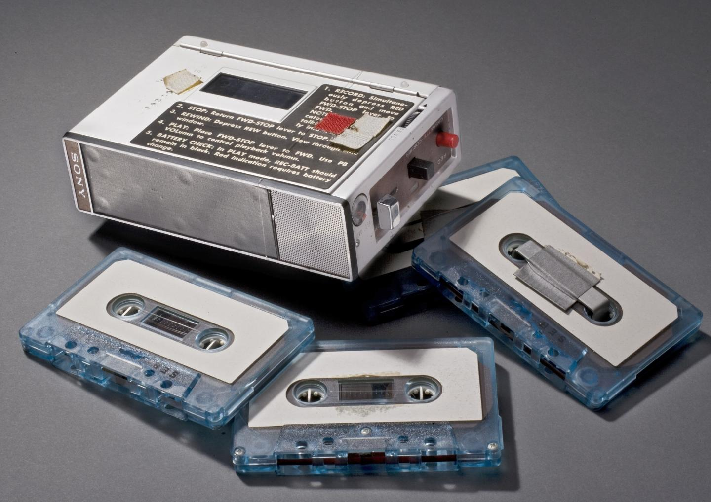 voice recorder and tapes