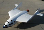 SpaceShipOne on the Ground