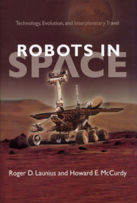 Cover art for Robots in Space