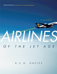 Cover art for Airlines of the Jet Age, A History