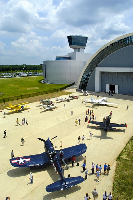 Become a Pilot Family Day at the Steven F. Udvar-Hazy Center