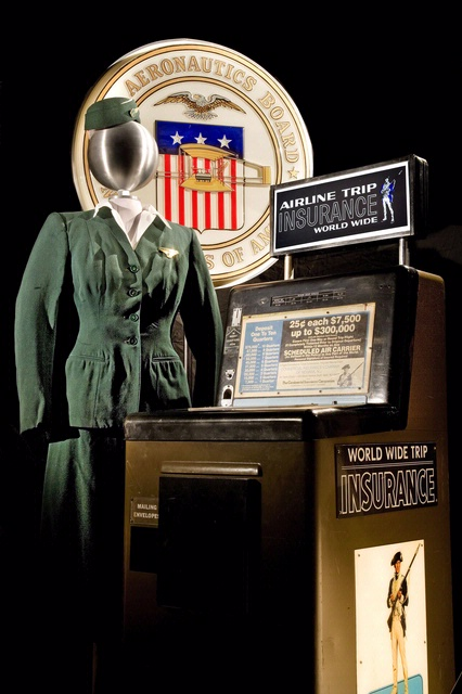 America by Air - Uniform and Travel Insurance Machine