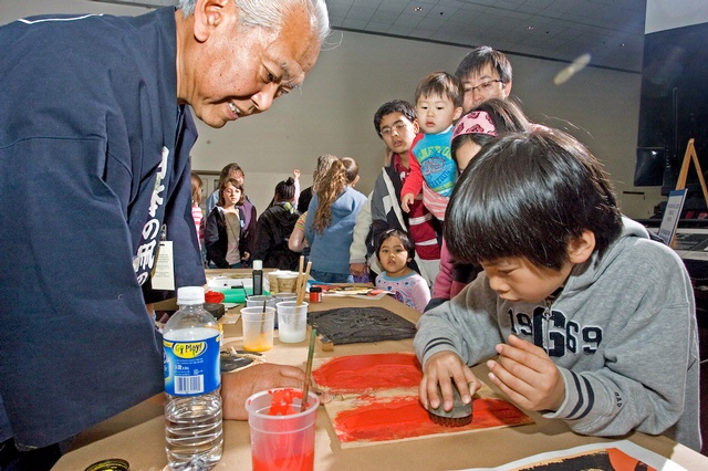 Kites of Asia Family Day at the Museum in Washington DC