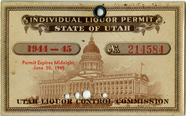 Ferebee's Ration Card