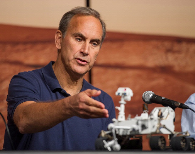 John Grotzinger, Chief Scientist, Mars Science Laboratory Mission