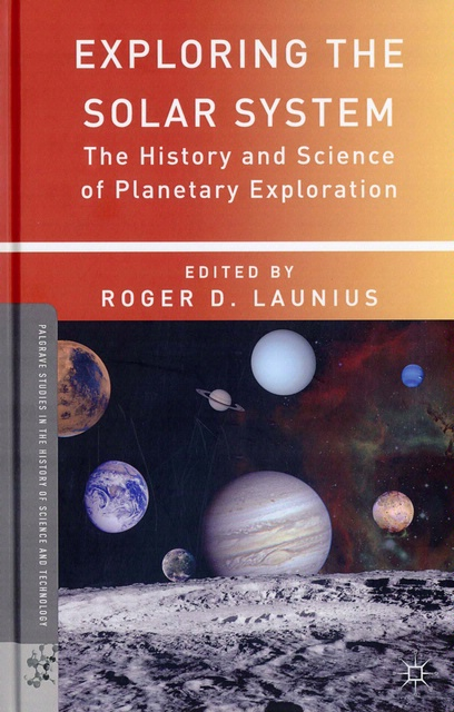 Book cover: Exploring the Solar System