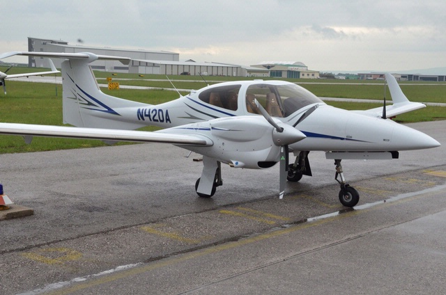 Become A Pilot Day 2013: Diamond DA42