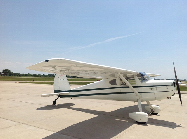 Become A Pilot Day 2013: Cessna 140A
