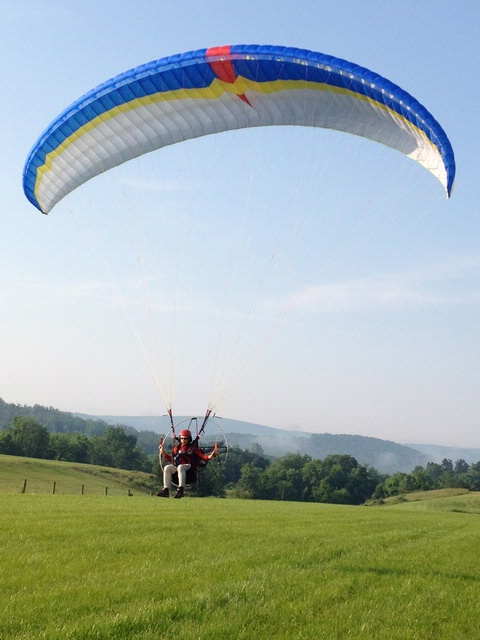 Become A Pilot Day 2013: Powered Paraglider