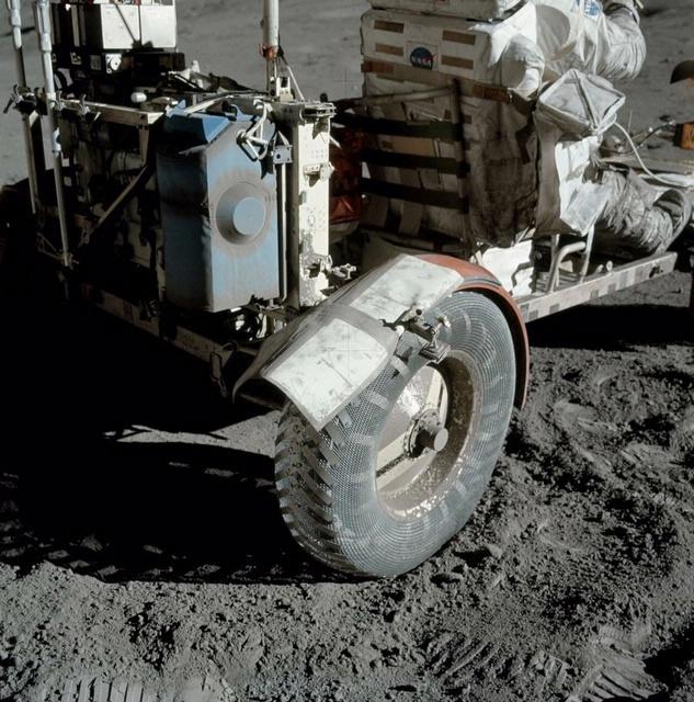 Broken Lunar Module Fender