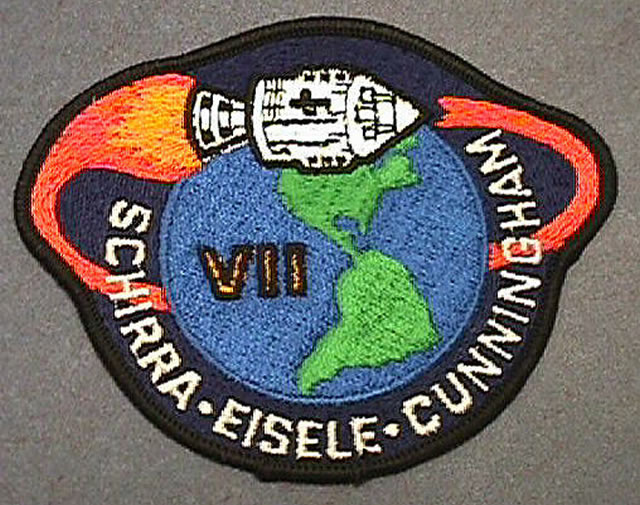 Apollo 7 Mission Patch | National Air and Space Museum