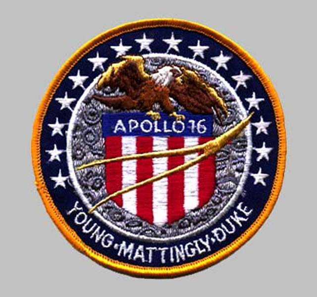 Apollo 16 Mission Patch | National Air and Space Museum