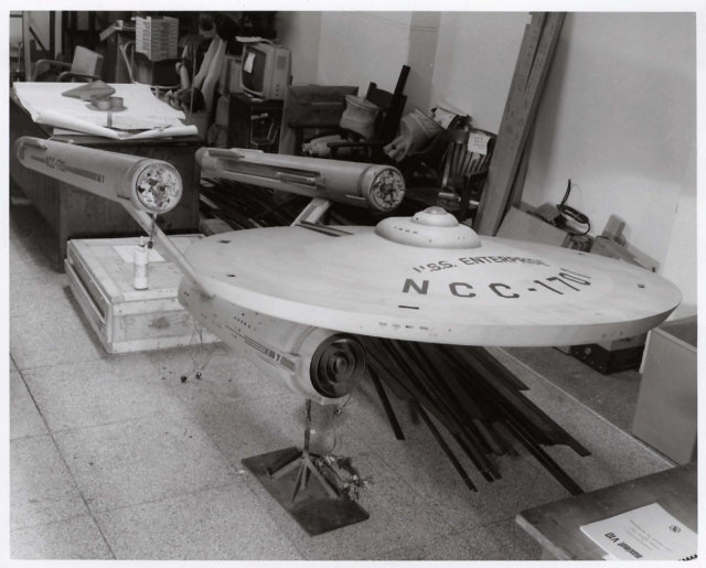 "Star Trek Starship ""Enterprise"" Model Restoration"